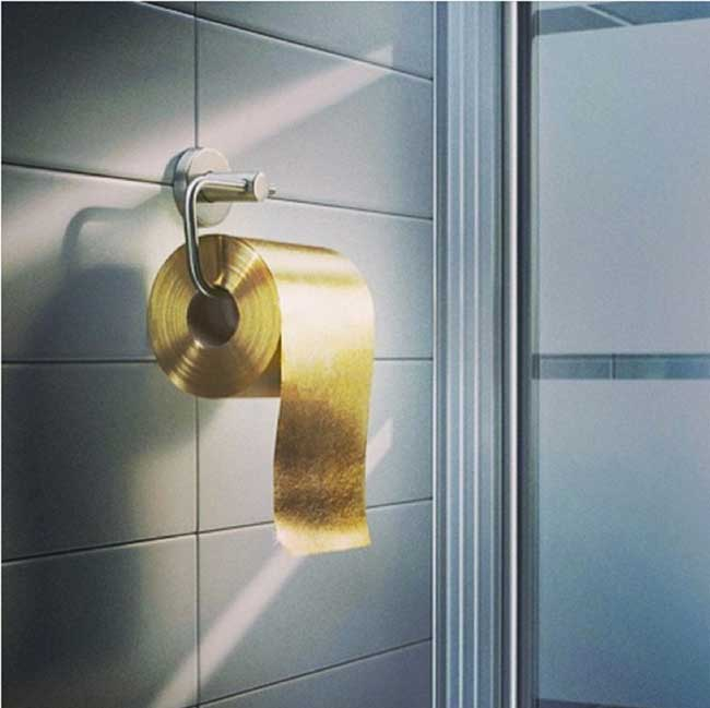 toilet made of gold. Toillet Paper Gold Toilet Paper Made Of Gold  Readzmag
